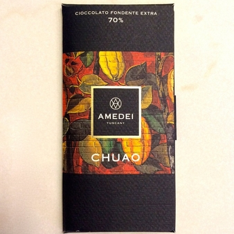 Amedei Chuao Dark Chocolate Bar, 70% Cocoa, 50g/1.75oz (12 Pack)