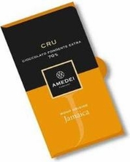 Amedei Cru Jamaica Extra Dark Chocolate Bar, Single Origin, 70% Cocoa, 50g/1.75oz (Single)