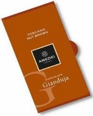 Amedei Toscano Nut Brown, Chocolate Gianduja, 50g/1.75oz (6 Pack)