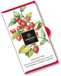 Amedei Toscano Red Chocolate Bar, 70% Cocoa, 50g/1.75oz (12 Pack)