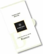 Amedei Toscano White Bianco Chocolate Bar, 50g/1.75oz (6 Pack)