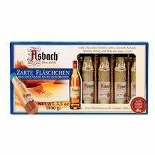 Asbach Zarte Fl�schchen Milk Chocolates filled with Brandy 3.5oz/100g