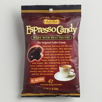 Balis Best- Espresso Candy, 5.3oz/150g (Pack of 6)