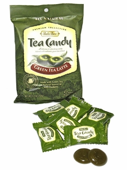 Balis Best- Green Tea Latte Candy, 5.3oz/150g (Single)
