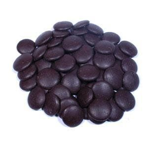 "Belcolade Belgian Chocolate - Dark Bitter-Sweet Chocolate Discs, ""Noir Supreme"", 70.5% Cocoa, (Repackaged, 2lb)"