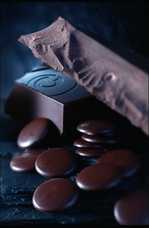 "Belcolade Belgian Chocolate - Dark Semi-Sweet Chocolate Discs, ""Noir Selection"", 55.0% Cocoa, (Repackaged, 2lb)"