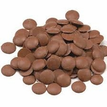 "Belcolade Belgian Chocolate - Milk Chocolate Discs, ""Lait Selection"", 33.5% Cocoa, (Repackaged, 2lb)"