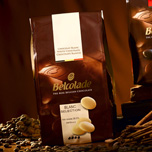 """Belcolade Belgian Chocolate - White Chocolate Discs, """"Blanc Selection"""", 28.0% Cocoa, (11 Lb./5kg. Bag)"""