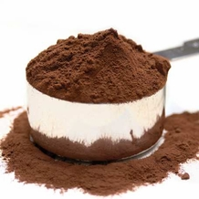 """Bensdorp Cocoa Powder - """"Holland Glory"""" 24-26% Fat Content, Medium Brown, (Repackaged, 1 Pound)"""
