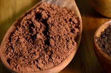 "Bensdorp Cocoa Powder - ""Saandam"" 16-18% Fat Content, Medium Brown, (Repackaged 2lb)."