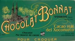 "Bonnat Chocolate - ""Cacao Real del Xoconuzco"", Bittersweet Dark Chocolate, 75% Cocoa, 100g/3.5oz  (Single)"