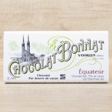 "Bonnat French Chocolate - ""Équateur"" 75% Cocoa Dark Chocolate, 100g/3.5oz. (Single Bar)"
