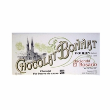 "Bonnat French Chocolate - ""Hacienda El Rosario"" 75% Cocoa Dark Chocolate, 100g/3.5oz. (Single)"