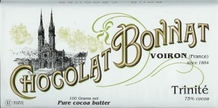 "Bonnat French Chocolate - ""Trinite"" 75% Cocoa Dark Chocolate, 100g/3.5oz.(5 Pack)"