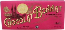 "Bonnat ""Haiti"" - 75% Cocoa Dark Chocolate, French Chocolate Bar, 100g/3.5oz (Single)."