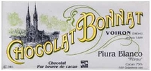 "Bonnat ""Piura Blanco"" Peru - 75% Cocoa Dark Chocolate, French Chocolate, 100g/3.5oz. (Single)"