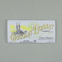 "Bonnat ""Piura Blanco"" Peru - 75% Cocoa Dark Chocolate, French Chocolate, 100g/3.5oz.(5 Pack)"