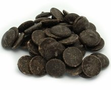"Cacao Barry Dark Chocolate ""Chocolate Amer"" Pistoles (Discs) , 60% Cocoa, (2lbs. Repackaged)"