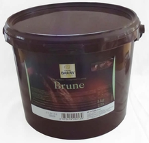 "Cacao Barry Dark Chocolate ""Brune"" Compound Coating, 5kg/11lb."