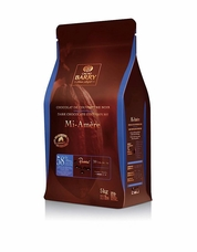 "Cacao Barry Dark ""Favorites Mi-Amère"" Pistoles (Discs), 58% Cocoa, (11lb/5kg. Bag)"