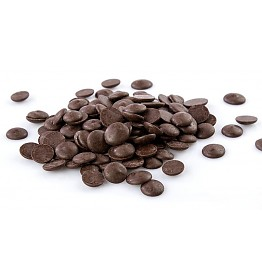 """Cacao Barry Extra-Bitter """"Guayaquil"""" Pistoles (Discs) , 64% Cocoa, (1 pound Repackaged)"""