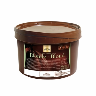 "Cacao Barry Milk Chocolate ""Blonde"" Compound Coating, 5kg/11lb."