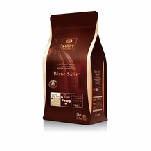 "Cacao Barry White Chocolate ""Blanc Satin"" Pistoles (Discs) , 29.2% Cocoa, (5kg/11lb.Bag)"