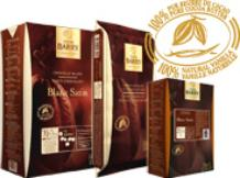 "Cacao Barry White Chocolate ""Blanc Satin"" Pistoles (Discs) , 29.2% Cocoa, (5kg/11lb.Box)"