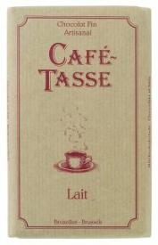 Café - Tasse Belgian Chocolate -35% Milk Chocolate Bar, 100g/3.5oz. (5 Pack)