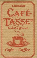 "Café- Tasse Belgian Chocolate - 9g Mini Bars ""Lait Caramel Salt"", (160 Ct. Box)"
