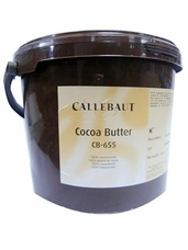 Callebaut Belgian Chocolate - 100% Pure Cocoa Butter, 4kg/8.8lbs.