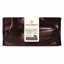 Callebaut 70-30-38 Belgian Chocolate, Dark Chocolate Extra - Bitter BLOCK, 70.5% Cocoa 5-Bar Case 25kg/55.0lbs.
