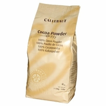 "CALLEBAUT BELGIAN CHOCOLATE - ""DUTCH PROCESSED COCOA POWDER 22-24% FAT CONTENT"", 5KG/11LB."