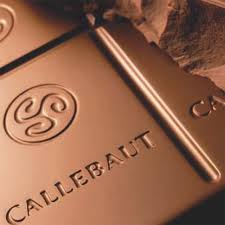 Callebaut 845 Belgian Chocolate, Milk Chocolate BLOCK, 32.7% Cocoa 5-Bar Case 25kg/55.0lbs.
