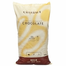 "Callebaut - Milk Chocolate ""Callets"", Chocolate Chips, 31.7% Cocoa,  (11kg/22lb Bag)"