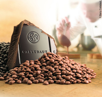 Callebaut Belgian Chocolate 823 Milk Chocolate Callets/Chips, 33.6% Cocoa (1-lb Repackaged)