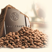 "Callebaut Belgian Chocolate, Milk Chocolate ""Chips"", Chocolate Chips, 31.7% Cocoa, (1 Pound Repackaged)"