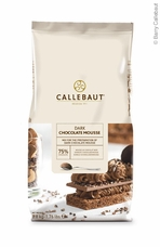 "Callebaut Chocolate - ""Dark Chocolate"" Mousse Powder, 800g/28oz. (Single)"