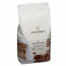 "Callebaut Chocolate - ""Milk Chocolate"" Mousse Powder, 800g/28oz. (Single)"
