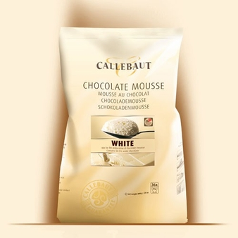 "Callebaut Chocolate - ""White Chocolate"" Mousse Powder, 800g/28oz.  (Single)"