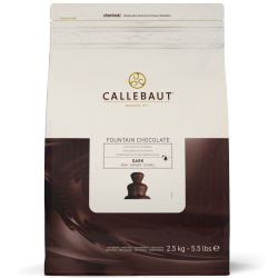 "Callebaut Chocolate - ""Dark Chocolate for Fountains"" 56.9% Cocoa 2.5kg /5.5 lbs"