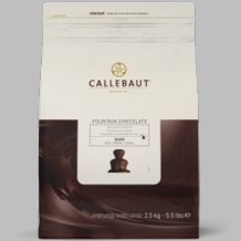 """Callebaut Chocolate - """"Dark Chocolate for Fountains"""" 56.9% Cocoa 2.5kg /5.5 lbs"""