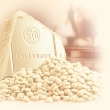 Callebaut White Chocolate Callets