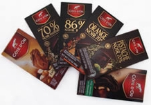 Cote d'Or 6 Bar Bundle - Variety of Five 3.5oz/100g and One 7.05oz/200g Bars
