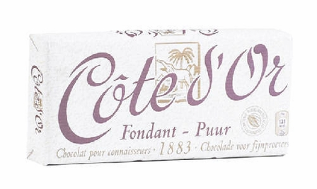 "Cote d'or Belgian Chocolate - Belgian Dark Chocolate ""Fondant-Puur"" 30% Cocoa, 150g/5.29oz. (5 Pack)"