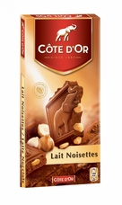 "Cote d Or Belgian - ""Milk Chocolate with Whole Hazelnuts"", 32% Cocoa 7.05oz./200g (5 Pack)"