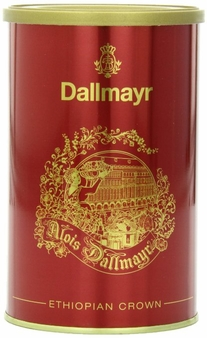 Dallmayr- Ethiopian Crown Red Tin, 8.8oz/250g (Single)