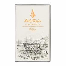 Dick Taylor - Belize Toledo 72% Cocoa Dark Chocolate Bar, 2oz/57g (Single)