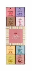 "Dolfin Belgian Chocolate - ""Panache Assortment"" 24 piece box, 108g/3.76oz(Single)"