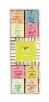 "Dolfin Belgian Chocolate - ""Spice Assortment"" 24 piece box, 108g/3.76oz"